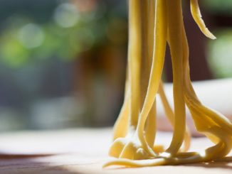 linguine con polpa do stoccafisso